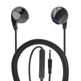 Casti Stereo 3.5 mm 4smarts Melody Black (jack 3.5mm, cablu 1.2m)