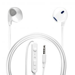 Casti Stereo 3.5 mm 4smarts Melody White (jack 3.5mm, cablu 1.2m)