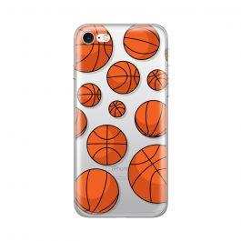 Husa iPhone 8 / 7 Lemontti Silicon Art Basketball