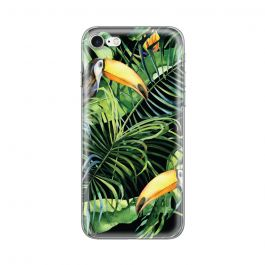 Husa iPhone 8 / 7 Lemontti Silicon Art Tropic