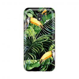 Husa Samsung Galaxy J3 (2017) Lemontti Silicon Art Tropic