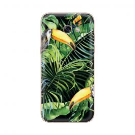 Husa Samsung Galaxy A5 (2017) Lemontti Silicon Art Tropic