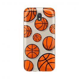 Husa Samsung Galaxy J7 (2017) Lemontti Silicon Art Basketball