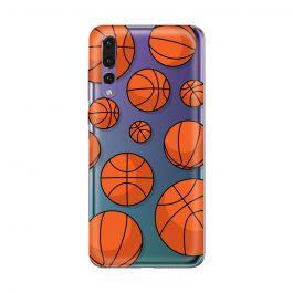 Husa Huawei P20 Pro Lemontti Silicon Art Basketball