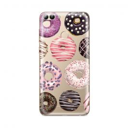 Husa Huawei P Smart Lemontti Silicon Art Donuts