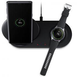 Incarcator Rapid Wireless Samsung Duo Black (Stand + Pad)