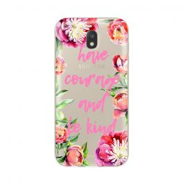 Husa Samsung Galaxy J5 (2017) Lemontti Silicon Art Have Courage