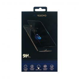 Folie iPhone XR Meleovo Sticla Defense Black (2.5D, 9H, oleophobic)