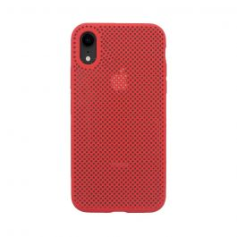 Husa iPhone XR Just Must Silicon Nest Red