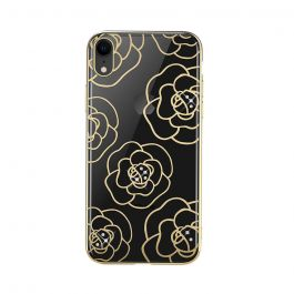 Carcasa iPhone XR Devia Camellia Gold
