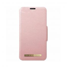 Husa iPhone X / XS iDeal of Sweden Fashion Wallet Pink