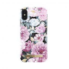 Carcasa iPhone X iDeal of Sweden Fashion Peony Garden