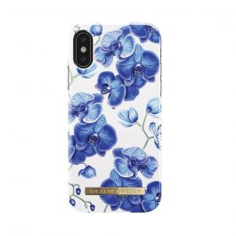 Carcasa iPhone X iDeal of Sweden Fashion Baby Blue Orchid