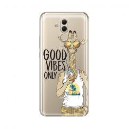 Husa Huawei Mate 20 Lite Lemontti Silicon Art Good Vibes