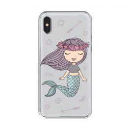 Husa iPhone XS / X Lemontti Silicon Art Little Mermaid