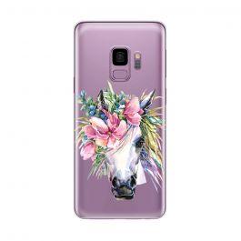 Husa Samsung Galaxy S9 G960 Lemontti Silicon Art Watercolor Unicorn