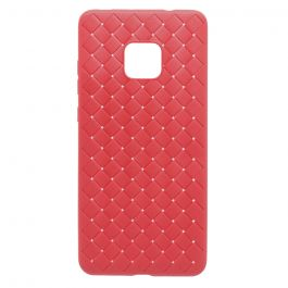 Carcasa Huawei Mate 20 Devia Woven Soft Red