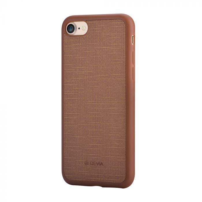 Carcasa iPhone 8 / 7 Devia Jelly Ultraslim Wine Red (flexibil)