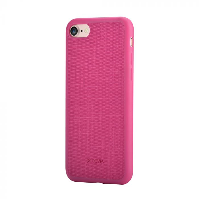 Carcasa iPhone 8 / 7 Devia Jelly Ultraslim Rose Red (flexibil)