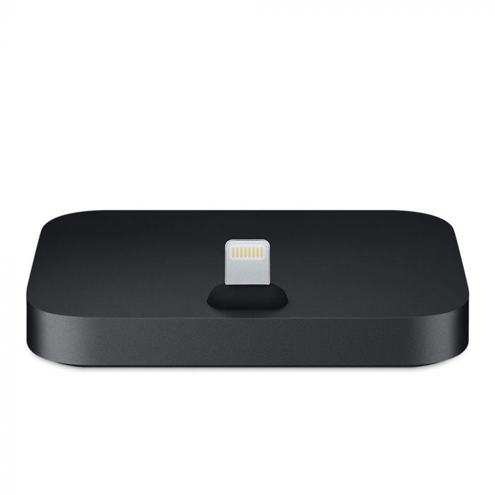 Suport tip Dock Apple Lightning Black (incarcare, jack 3.5 mm)
