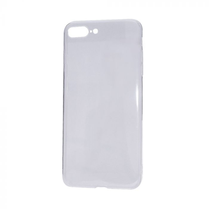 Husa iPhone 8 Plus / 7 Plus Lemontti Silicon Ultraslim Transparent