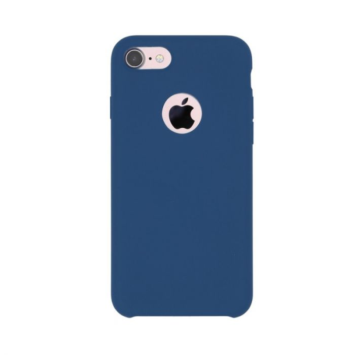 Carcasa iPhone 7 Just Must Liquid Silicone Ocean Blue