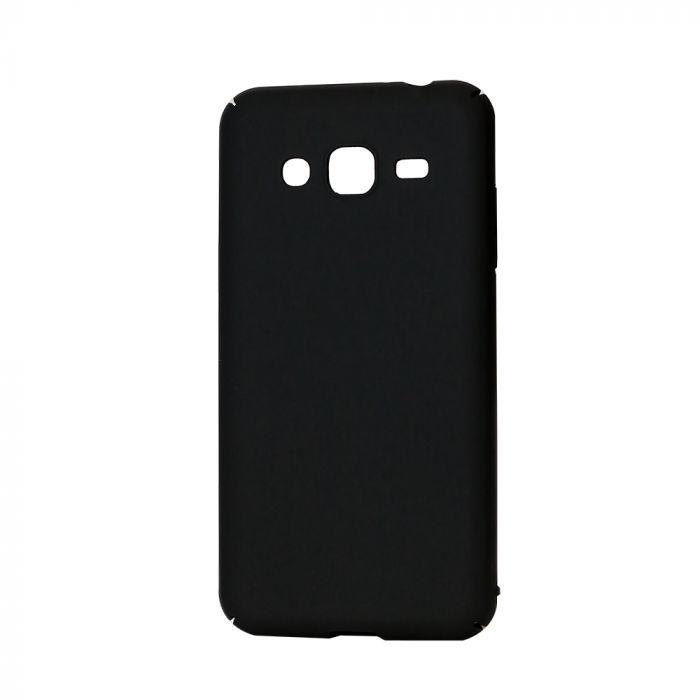 Carcasa Samsung Galaxy J3 (2016) Lemontti Hard Rubber Slim Negru