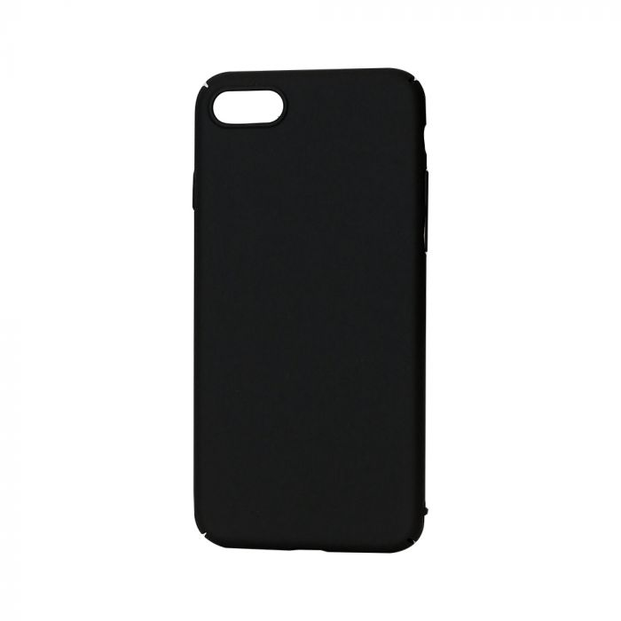 Carcasa iPhone 7 Lemontti Hard Rubber Slim Negru