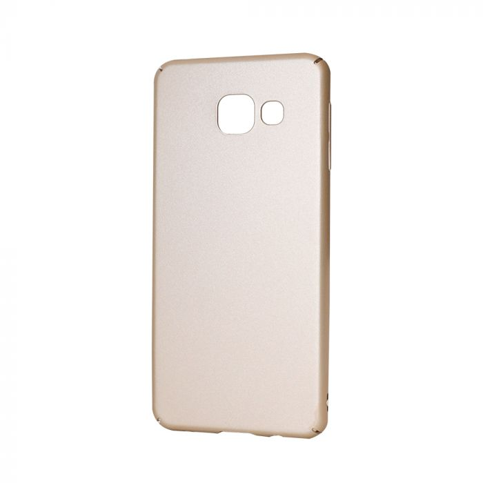 Carcasa Samsung Galaxy A3 (2016) Lemontti Hard Rubber Slim Auriu
