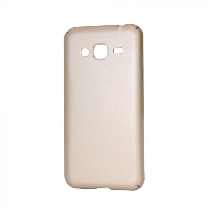 Carcasa Samsung Galaxy J3 (2016) Lemontti Hard Rubber Slim Auriu