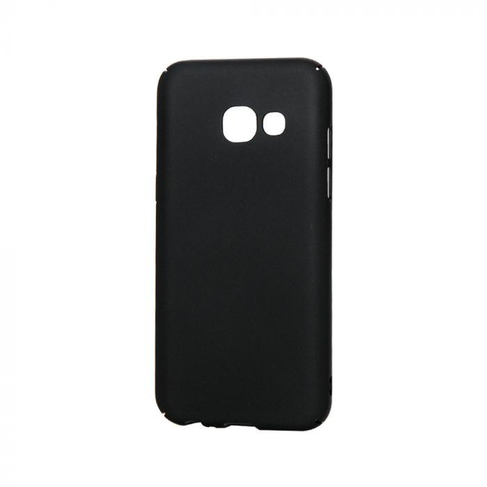 Carcasa Samsung Galaxy A3 (2017) Lemontti Hard Rubber Slim Negru