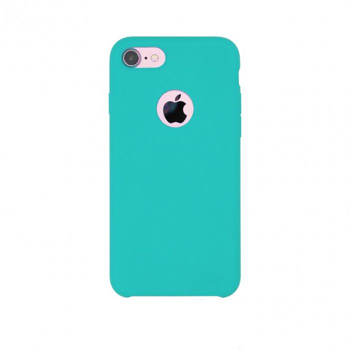 Carcasa iPhone 7 Just Must Liquid Silicone Sea Blue