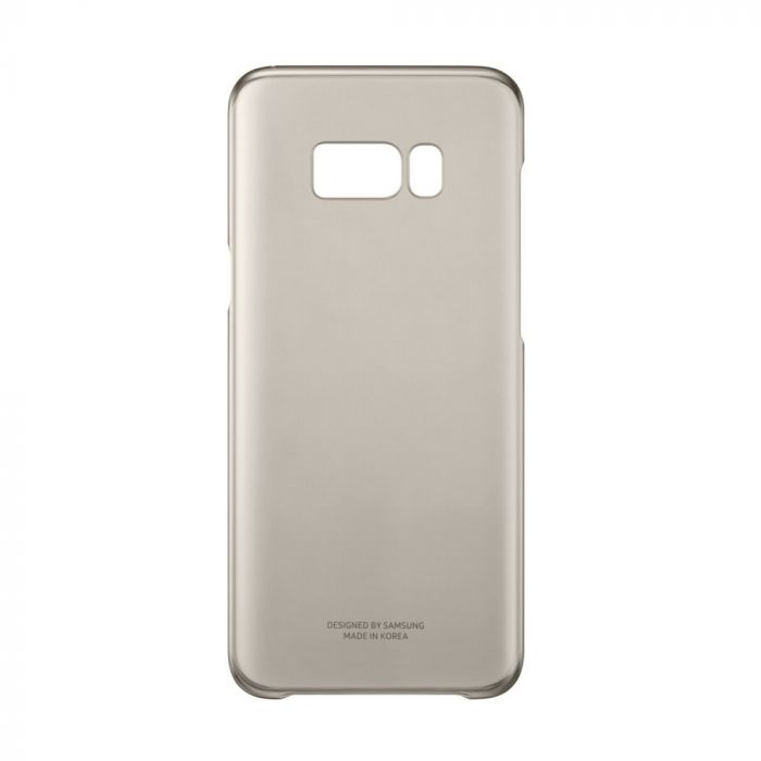 Carcasa Samsung Galaxy S8 Plus G955 Samsung Clear Cover Gold