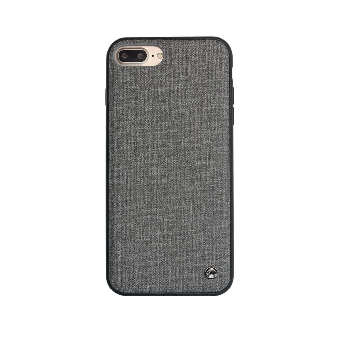 Carcasa iPhone 8 Plus / 7 Plus Occa Empire II Gray (margine flexibila)
