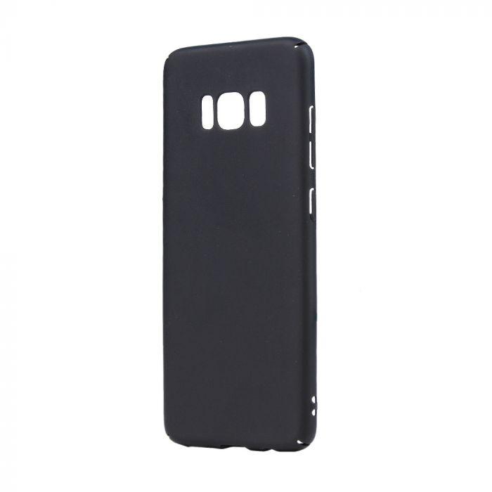 Carcasa Samsung Galaxy S8 G950 Lemontti Hard Rubber Slim Negru