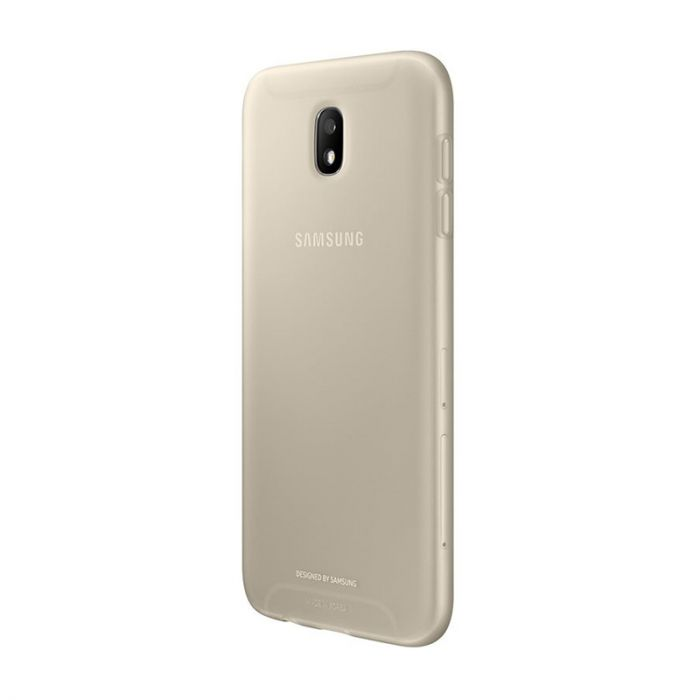 Carcasa Samsung Galaxy J7 (2017) Samsung Jelly Cover Gold