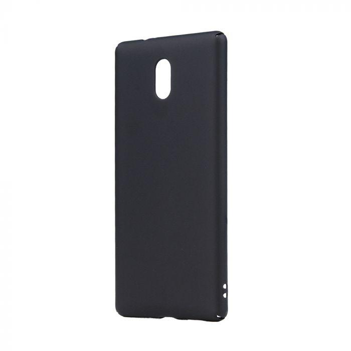 Carcasa Nokia 3 Lemontti Hard Rubber Slim Negru
