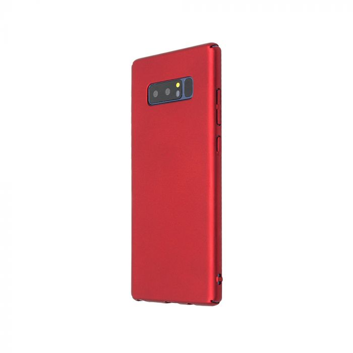 Carcasa Samsung Galaxy Note 8 Just Must Uvo Red (material fin la atingere, slim fit)