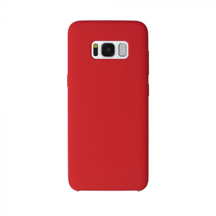 Carcasa Samsung Galaxy S8 Plus G955 Just Must Liquid Silicone Red