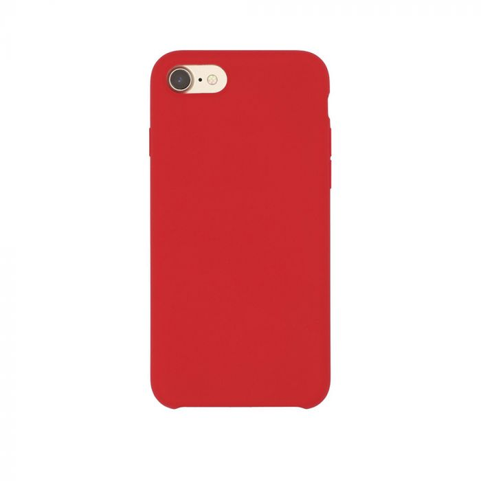 Carcasa iPhone 8 / 7 Just Must Liquid Silicone Red