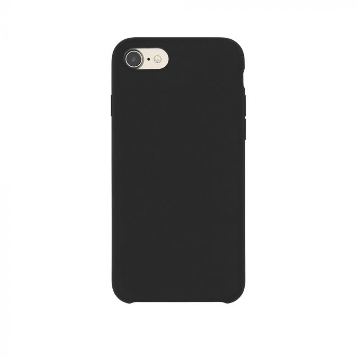 Carcasa iPhone 8 / 7 Just Must Liquid Silicone Black