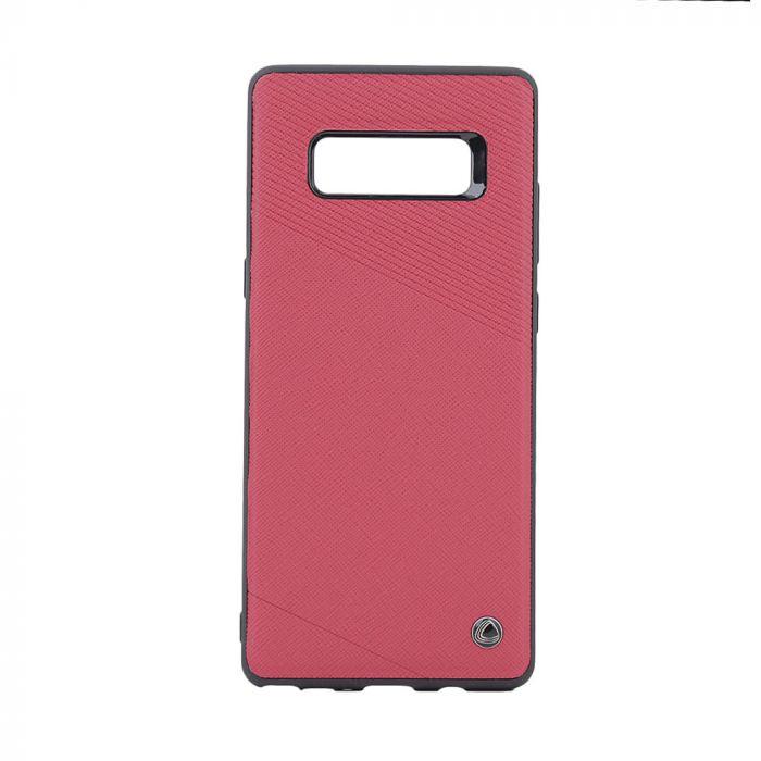 Carcasa Samsung Galaxy Note 8 Occa Exquis Car Red (margini flexibile, placuta metalica integrata)