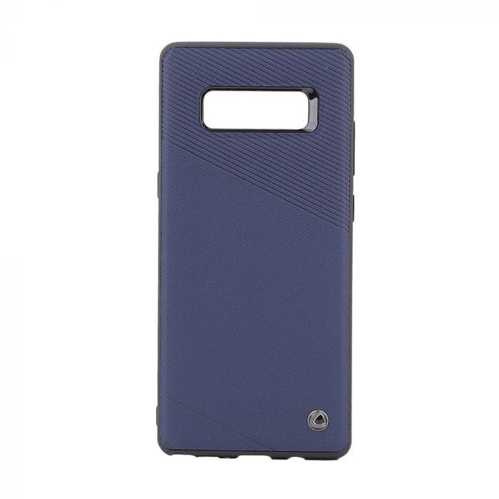 Carcasa Samsung Galaxy Note 8 Occa Exquis Car Navy (margini flexibile, placuta metalica integrata)
