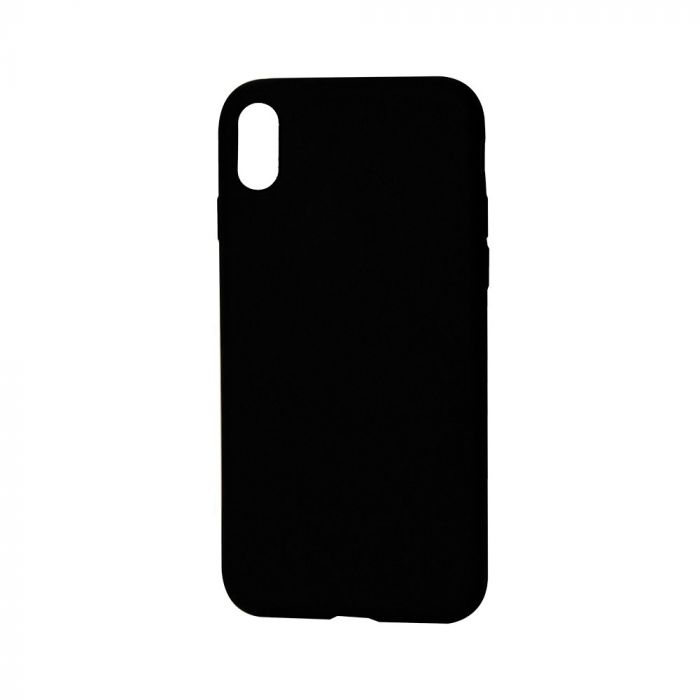 Husa iPhone X / XS Just Must Silicon Candy Black