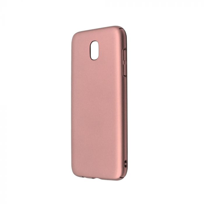 Carcasa Samsung Galaxy J5 (2017) Just Must Uvo Rose Gold (material fin la atingere, slim fit)