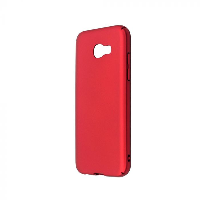 Carcasa Samsung Galaxy A5 (2017) Just Must Uvo Red (material fin la atingere, slim fit)
