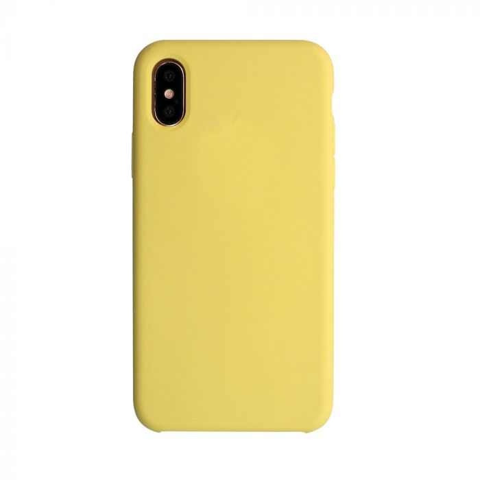 Carcasa iPhone X Just Must Liquid Silicone Pollen