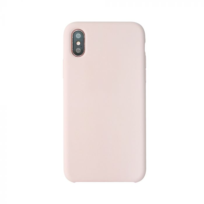 Carcasa iPhone X Just Must Liquid Silicone Pink