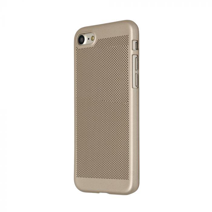 Carcasa iPhone 8 Just Must Simo II Gold (gaurele pentru disiparea caldurii)