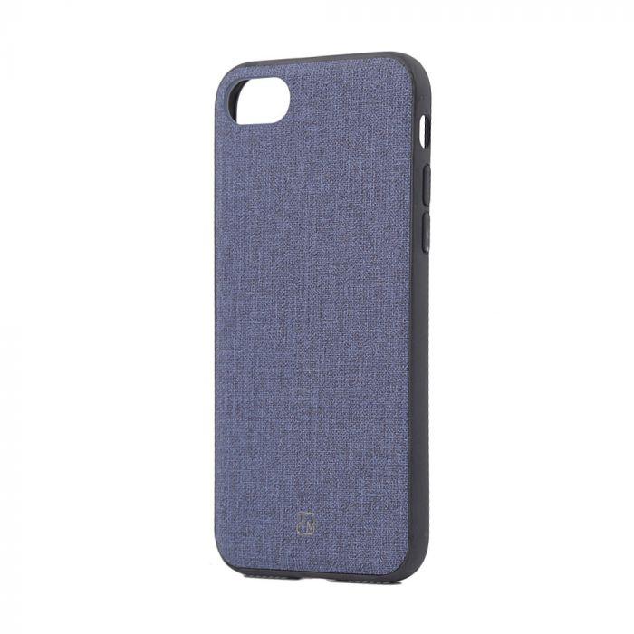 Carcasa iPhone 8 / 7 Just Must Empire Navy (margini flexibile)